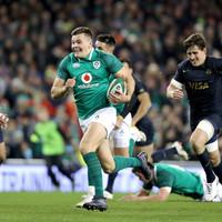 Stockdale shines again as Ireland put away Pumas