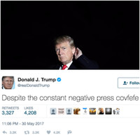 Donald Trump's bizarre first year in the White House, in 12 tweets