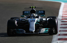 Bottas smashes lap record to deny Hamilton pole for F1 season finale