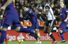 Messi and Barcelona left incensed after goal denied in La Liga draw against Valencia