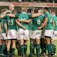 Ireland up to third in the world following November clean sweep