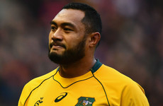 Australia's Kepu lands three-week ban for red card against Scotland