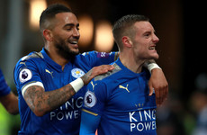 Spurs lose more ground in the title race as Vardy and Mahrez strike for the Foxes