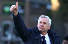 Alan Pardew is a Premier League manager once again