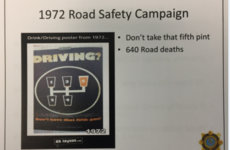 FactCheck: Did a drink-driving campaign in 1972 really say the FIFTH pint was the one too many?