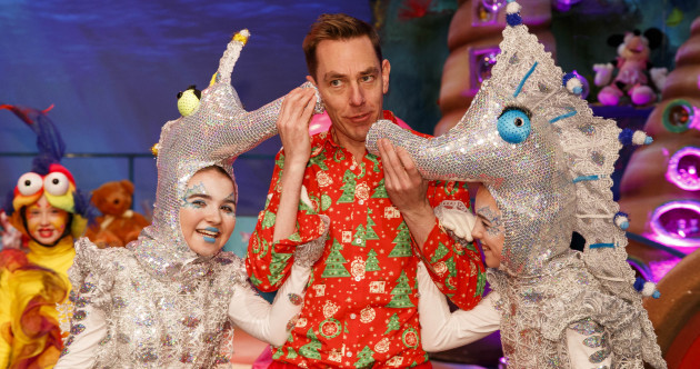 Ryan Tubridy gave us a preview tour of tonight's Toy Show set