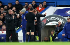 Chelsea boss Conte charged with misconduct after sending off against Swansea