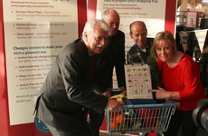 Trolleys like this can help shoppers with autism. They're being introduced by SuperValu