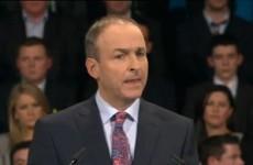 Fianna Fáil leader apologises for party's mistakes