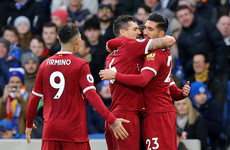 Emphatic Liverpool turn on the style with five against sorry Brighton