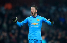 Mourinho hails 'world class' De Gea as he levels Premier League record