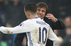 'Don't kick Hazard' - Conte issues playful World Cup warning to Chelsea teammates