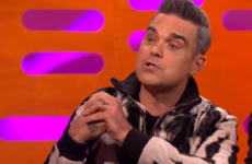 Robbie Williams told Graham Norton a hilarious story about hiding Geri Halliwell in the boot of his car