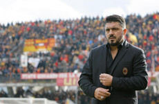 'It would've been better to get stabbed': New Milan boss Gattuso stunned by Benevento draw