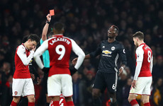 Pogba to miss derby as United decide not to appeal red card