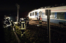 Six people seriously injured after commuter train hits freight train in Germany