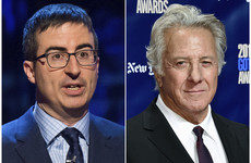 John Oliver grilled Dustin Hoffman over sexual misconduct claims
