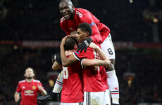 Lukaku ends goal drought as two dazzling minutes prove crucial and Man United move on