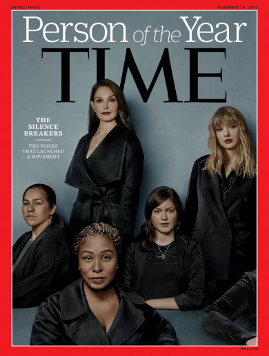 'Silence breakers' named as Time's Person of the Year