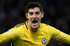 Defiant Courtois believes Barca won't fancy being drawn against Chelsea