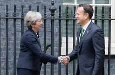 Leo Varadkar and Theresa May phonecall focuses on importance of 'no hard border'