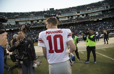 Normal service resumes! Eli Manning returns as starting quarterback
