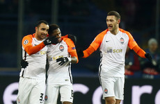 Subdued Man City slump to first defeat of the season against Shakhtar Donetsk