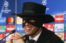 Shakhtar boss keeps promise and dresses as Zorro after side defy odds in Champions League