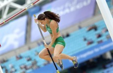 London, baby: Pena qualifies for Olympic pole vault