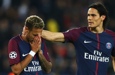 Neymar 'stressed' after Cavani spat