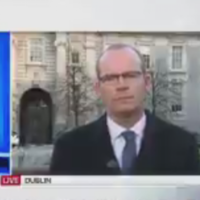 Sky News anchor to Coveney: 'Do you think that this week's kerfuffle has been necessary? Do you feel guilty?'