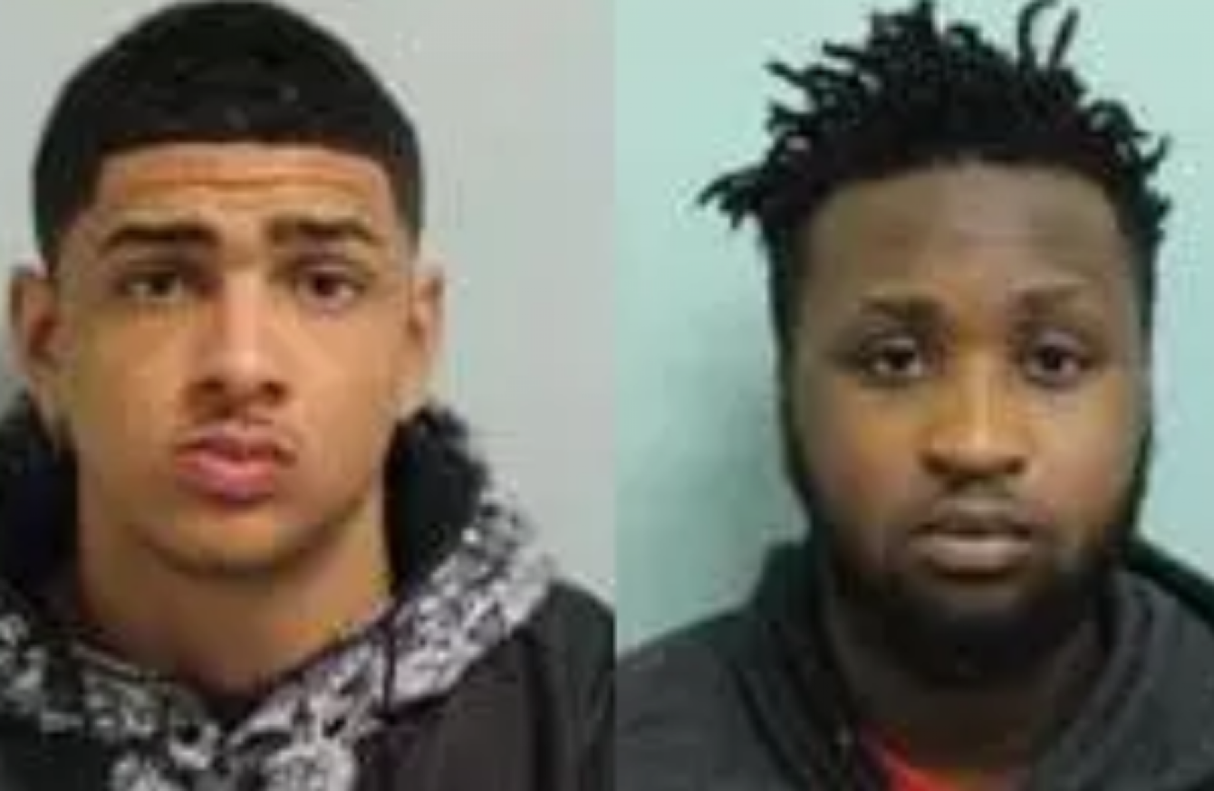 Two London men who sprayed corrosive fluid in the face of two women ...