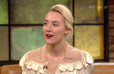 Saoirse Ronan was asked about that dodgy Aer Lingus sketch on the Late Late last night