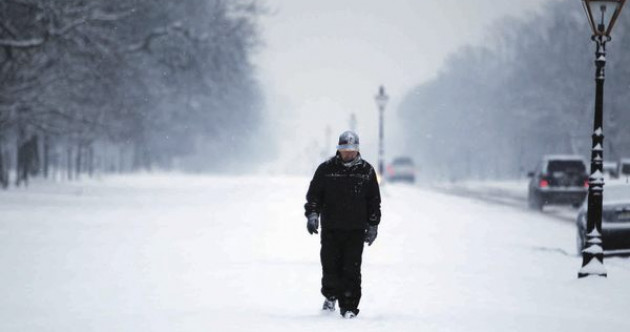 Four weather warnings in place as temperatures of -5 degrees and 8 cm snow forecast