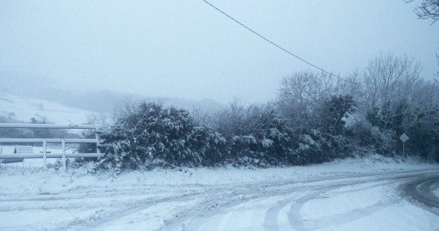 Motorists warned to take extreme care as temperatures may dip to minus 8 degrees