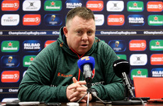 Van Graan dismisses O'Connor's claim that Munster were 'cynical' at the breakdown