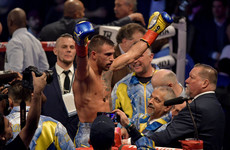 Dominant Lomachenko retains title after Rigondeaux quits on his stool