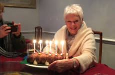 Dame Judi Dench loves a Colin the Caterpillar birthday cake just like the rest of us