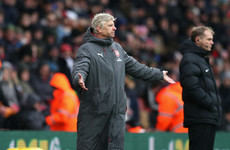 Wenger bemoans Saints' time-wasting: 'Referees haven't found an answer'