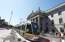 Signal failure causes major traffic disruption during Luas Cross City's first weekday