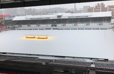 Snow chance of postponement of next weekend's Leicester-Munster clash