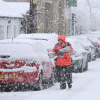 Chaos on the continent as heavy snow and freezing conditions leave thousands stranded