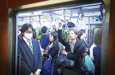 Pregnant woman wants seat on Tokyo metro - there's an app for that