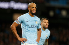 Vincent Kompany's latest injury is his 42nd since joining Manchester City in 2008