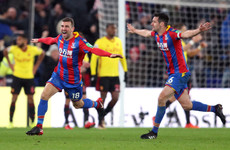 One red card, two goals and three points for Palace as they stage very late but great comeback