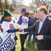 Alabama voters go to the polls in crucial Senate contest between Trump pick Roy Moore and Democrat Doug Jones