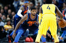 Celtics bounce back as Thunder lift George in return to Indiana