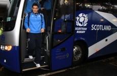 Evans named on Scotland bench following assault accquital