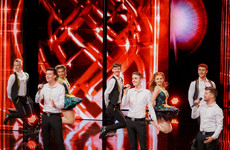 An Irish boy-band breezed their way to the finals of Germany's Got Talent for singing as Gaeilge