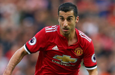 Mourinho: No room on Man Utd bench for disappearing Mkhitaryan